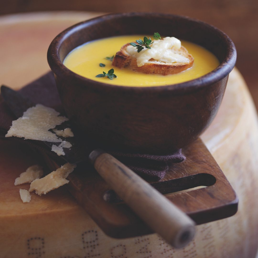 Parmigiano Reggiano and Butternut Squash Soup Recipe